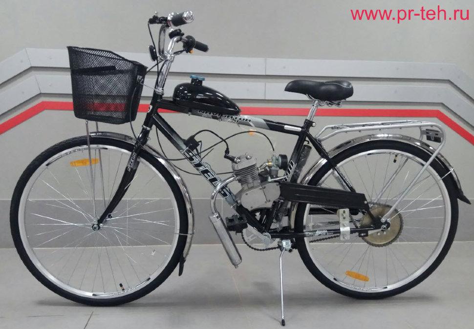 Велосипед с мотором (мотовелосипед) Стелс Навигатор